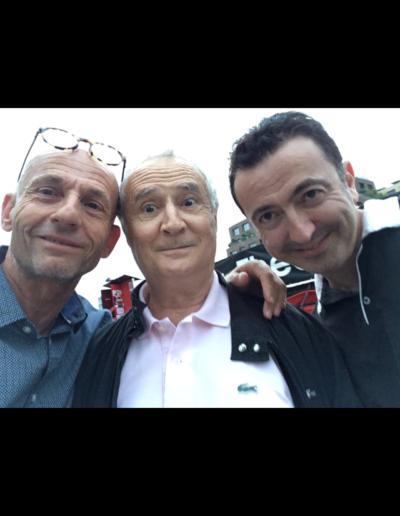 Jean Lou Animateur et Daniel Prevost