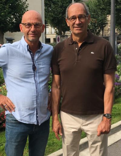 Jean Lou Animateur et Eric Woerth